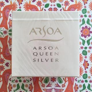 アルソア(ARSOA)の【新品未開封】アルソア ❁ 石鹸 クイーンシルバー 135g(洗顔料)