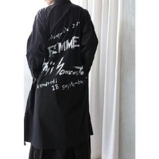 Yohji Yamamoto - 新品 国内正規品 スタッフシャツ ブラック 2