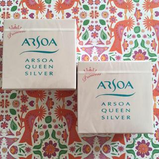アルソア(ARSOA)の【新品未開封】アルソア ❁ 石鹸 クイーンシルバーPF 無香料 70g×2個(洗顔料)