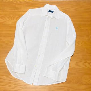 ラルフローレン(Ralph Lauren)のラルフローレン リネンシャツ 100% レディース(シャツ/ブラウス(長袖/七分))