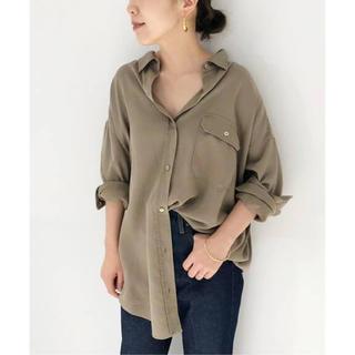 プラージュ(Plage)のplageミニタリーシャツ(シャツ/ブラウス(半袖/袖なし))