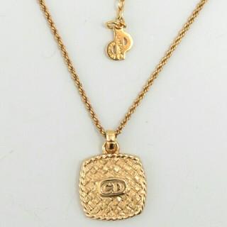 クリスチャンディオール(Christian Dior)の早い者勝ち❤人気 クリスチャンディオール CDロゴ ゴールドネックレス(ネックレス)