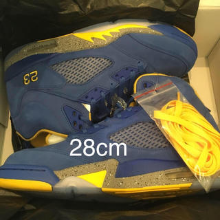ナイキ(NIKE)の28cm AIR JORDAN 5 LANEY JSP(スニーカー)