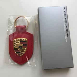 Porsche - ポルシェ キーホルダー 純正 赤