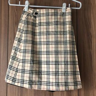 バーバリー(BURBERRY)のBURBERRYスカート(ひざ丈スカート)