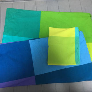 イケア(IKEA)のIKEA シングル 掛け布団カバー 枕カバー(シーツ/カバー)
