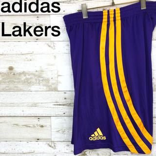 アディダス(adidas)のadidas(アディダス)レイカーズ バスパン ゲームパンツ ショートパンツXO(バスケットボール)