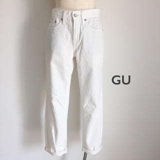 GU - GU ガールフレンドアンクルジーンズ