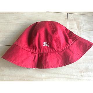 バーバリー(BURBERRY)のバーバリーリバーシブルハット(帽子)