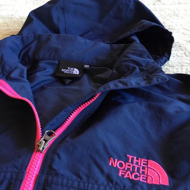 THE NORTH FACE(ザノースフェイス)のノースフェイス  コンパクトジャケット 120 キッズ/ベビー/マタニティのキッズ服 女の子用(90cm~)(ジャケット/上着)の商品写真