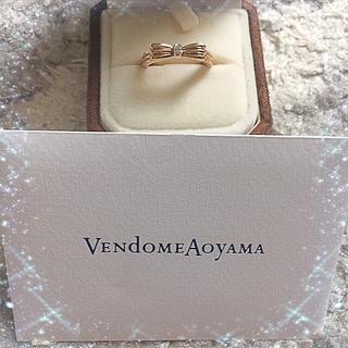 ヴァンドームアオヤマ(Vendome Aoyama)の✨美品 ヴァンドーム青山 ファッション リング✨(リング(指輪))