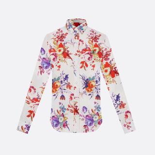 DIOR HOMME - Dior 19ss Bouquet de Fleurs silk shirt