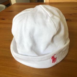 ラルフローレン(Ralph Lauren)のラルフローレン ベビーキャップ 6mons 42㎝(帽子)