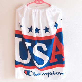 チャンピオン(Champion)の[新品タグ付き]チャンピオン プールタオル 80丈(マリン/スイミング)