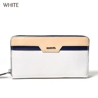 ディーゼル(DIESEL)の値下げ♪人気の長財布☆彡ホワイトカラー☆彡 DIESEL 長財布(財布)