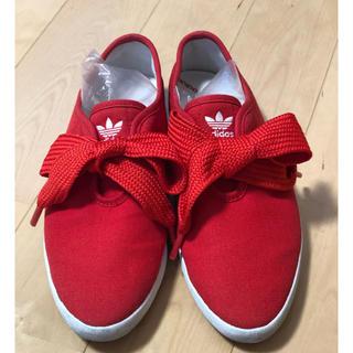 アディダス(adidas)のadidas リボンスニーカー(スニーカー)