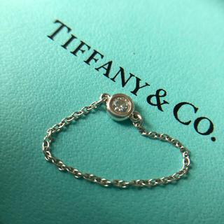Tiffany & Co. - ティファニー バイザヤード  ダイヤモンド リング シルバー 925 11号