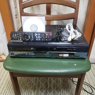 パナソニック(Panasonic)の希少一台四役パナソニックVHS/HDD/ブルーレイレコーダーDMR-BR630V(ブルーレイレコーダー)