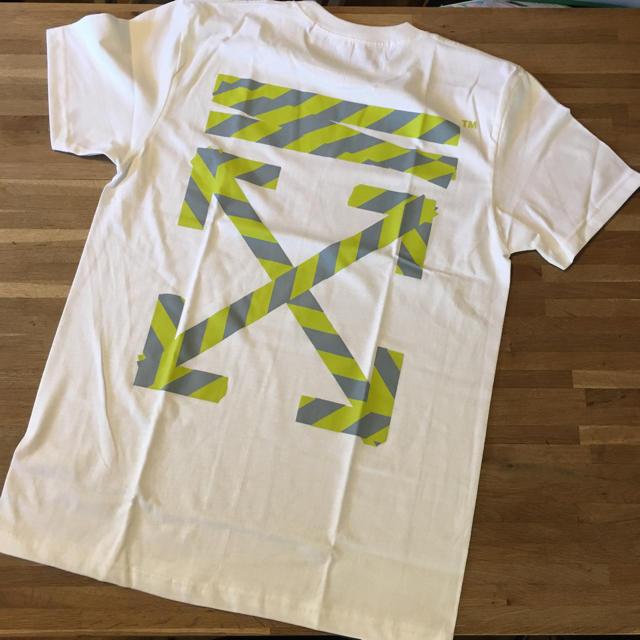 OFF-WHITE(オフホワイト)のTシャツ Mサイズ メンズのトップス(Tシャツ/カットソー(半袖/袖なし))の商品写真
