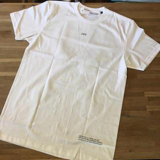 オフホワイト(OFF-WHITE)のTシャツ Mサイズ(Tシャツ/カットソー(半袖/袖なし))