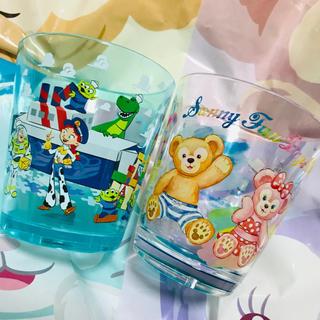 Disney - ディズニー トイストーリー ダッフィー スーベニア カップ シェイブ