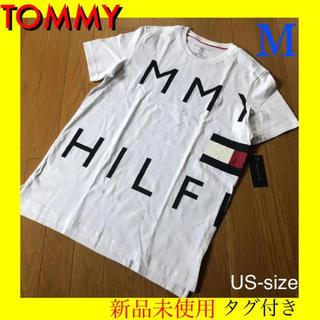 TOMMY HILFIGER - TOMMYビッグロゴ!トミー Tシャツ M ※カルバン チャンピオン ゲス好き