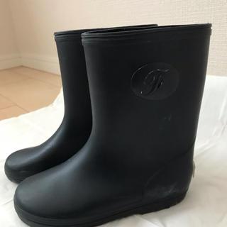 familiar - ファミリア 長靴 レインブーツ 17.0