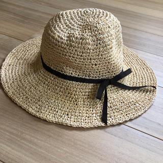 フェリシモ(FELISSIMO)の麦わら帽子(麦わら帽子/ストローハット)