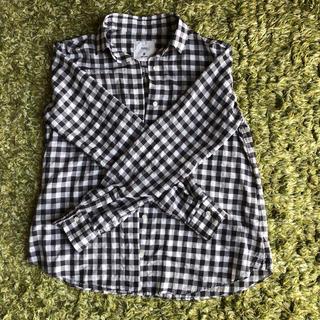 イネド(INED)の美品 INED チェックシャツ(シャツ/ブラウス(長袖/七分))