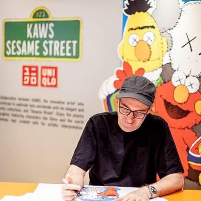 SESAME STREET(セサミストリート)のユニクロ UNIQLO カウズ kaws セサミストリート コンプリートボックス エンタメ/ホビーのおもちゃ/ぬいぐるみ(ぬいぐるみ)の商品写真