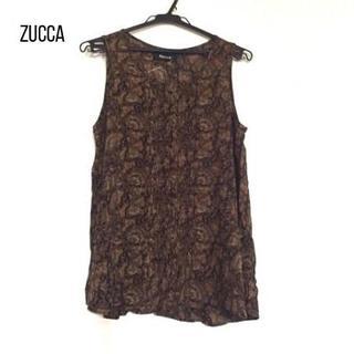 ZUCCa - ZUCCA(ズッカ) チュニック サイズM レディース ブラウン