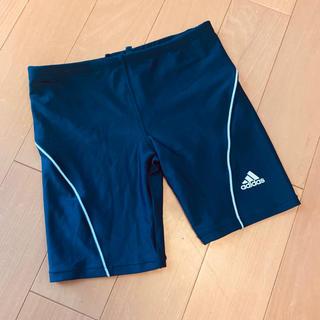 アディダス(adidas)のスクール水着 アディダス adidas 150 美品 男の子 紺(水着)