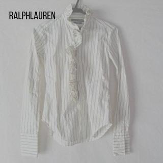 ラルフローレン(Ralph Lauren)のラルフローレン 長袖シャツブラウス サイズ2 S レディース(シャツ/ブラウス(長袖/七分))