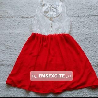 エムズエキサイト(EMSEXCITE)のEMSEXCITE レディース ワンピース(ミニワンピース)