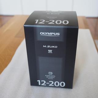 OLYMPUS - 新品未開封 オリンパス M.ZUIKO ED 12-200mm f3.5-6.3