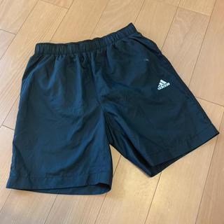 adidas - スクール水着 adidas アディダス 140 美品 黒 メッシュ