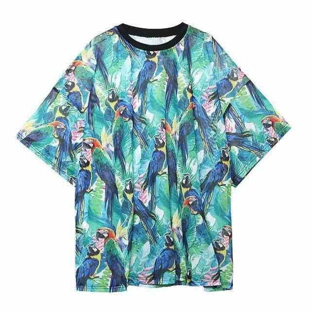 ワンピースひざ丈レディース夏服黒きれいめ20代大きいサイズ個性 レディースのトップス(Tシャツ(半袖/袖なし))の商品写真