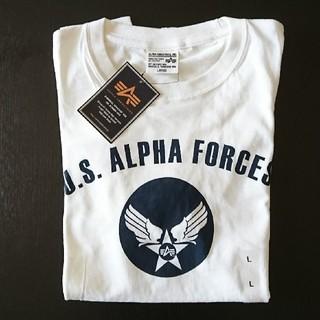 アルファ(alpha)の【新品】アルファロゴTシャツ(Tシャツ/カットソー(半袖/袖なし))