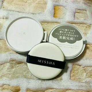 ミシャ(MISSHA)のミシャ  クッションファンデーション  レフィル(ファンデーション)