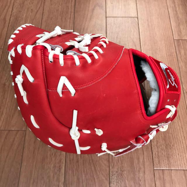 久保田スラッガー(クボタスラッガー)のスラッガー    オーダー ファーストミット    レアラベル スポーツ/アウトドアの野球(グローブ)の商品写真