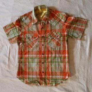 バックナンバー(BACK NUMBER)のbacknumber チェック柄 半袖シャツ(Tシャツ/カットソー(半袖/袖なし))