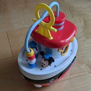 タカラトミー(Takara Tomy)のディズニー はじめて英語おしゃべりいっぱい! ゆらゆらボートミッキー&フレンズ(知育玩具)