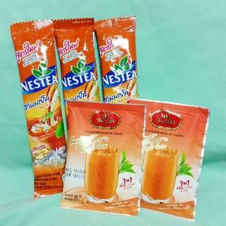 ネスレ(Nestle)の飲み比べ13個セット★インスタント タイミルクティー【チャトラム―&ネスレ】(茶)
