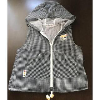 ファミリア(familiar)のファミリア 袖なし メッシュ パーカー 100(ジャケット/上着)