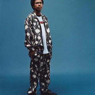 Supreme - 【M】Supreme Floral Silk Track Jacket