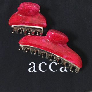 acca - クーポン期間限定出品    アッカ バービー 中 小 クリップ セット