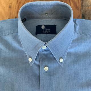 ラルフローレン(Ralph Lauren)のIKE BEHAR コットン シャンブレー ボタンダウン L/S シャツ ブルー(シャツ)