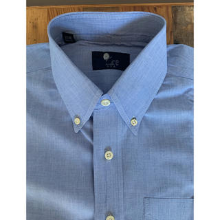 ラルフローレン(Ralph Lauren)のIKE BEHAR コットン ボタンダウン L/S シャツ ブルー(シャツ)
