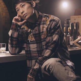 グッチ(Gucci)のtakuya∞ 着用 GUCCI チェックシャツ ドラゴンシャツ(シャツ)