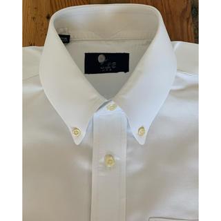 ラルフローレン(Ralph Lauren)のIKE BEHAR オックスフォード ボタンダウン L/Sシャツ ホワイト M(シャツ)